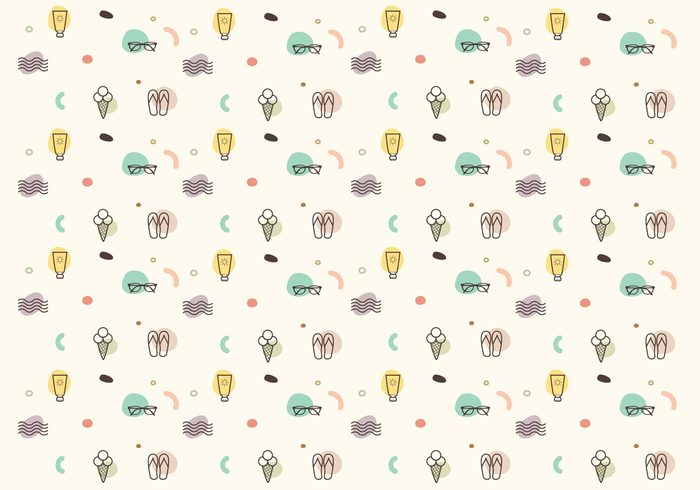 49kjdybluf0yv41 Vector Summer Icon Pattern 267386