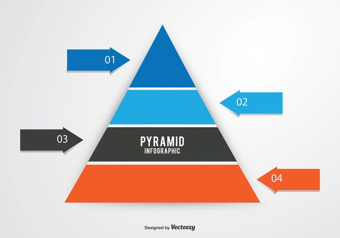 white visual tower template symbol structure step sign shape scheme pyramidal pyramid chart pyramid progress process prism plan Part multicolor model level layout layered layer isolated information infographic illustration Idea icon growth graphic graph Five empty drawing diagram data conical cone color chart business bright blank background