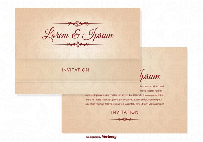 wishes wedding card wedding vintage vignette traditional template retro postcard pattern pastel paper old married marriage label invitation Honeymoon greeting frame engagement elegant decorative decoration day cover congratulations celebrate cards card template card brown border beige banner background