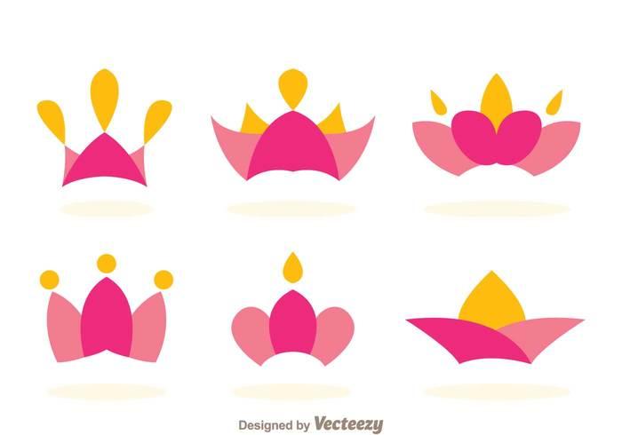 symbol royalty royal princess crown princess castle princess Prince pink orange medal logo kingdom king emble elegant crown logos crown logo crown award