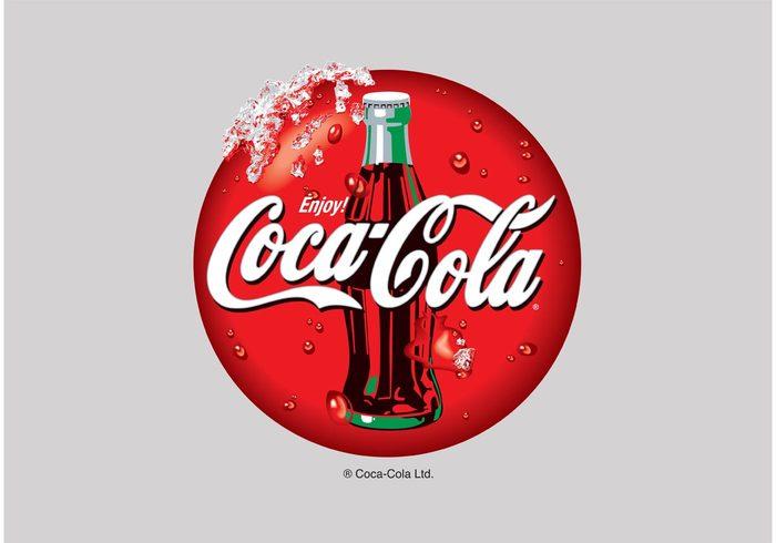 Spencerian Soft drink soda script pop drinks design cola coke coca cola Coca Bottlers beverages