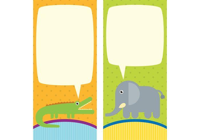 toy Smile shower party invitation party newborn kid invitation girl fun elephant cute crocodile child cartoon card boy Born birthday baby girl Baby boy Baby animal baby animal card animal africa adorable