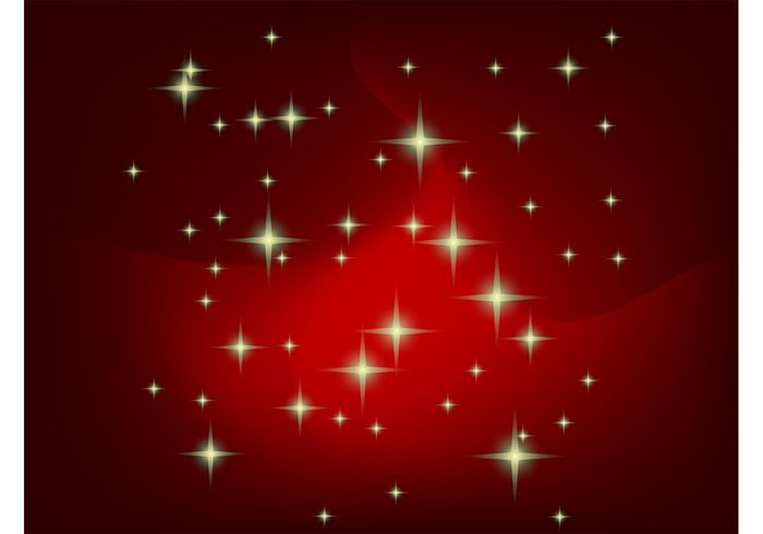 wrap vector backgrounds universe stars starry presents lighting holidays gradient glow gifts cosmos christmas
