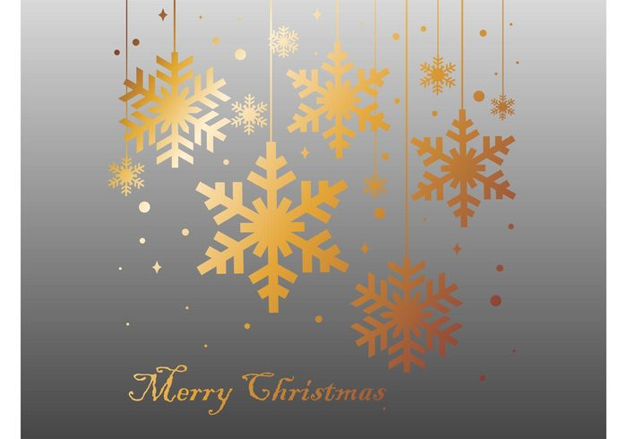 winter template snow holiday greetings greeting card golden gold frost festive crystals christmas background