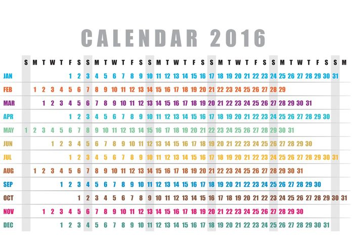 yearly year weekly week time template scheduler schedule planner organizer office new year monthly month modern layout format day date daily calender calendario 2016 calendario calendar 2016 calendar Annual almanac agenda 2016
