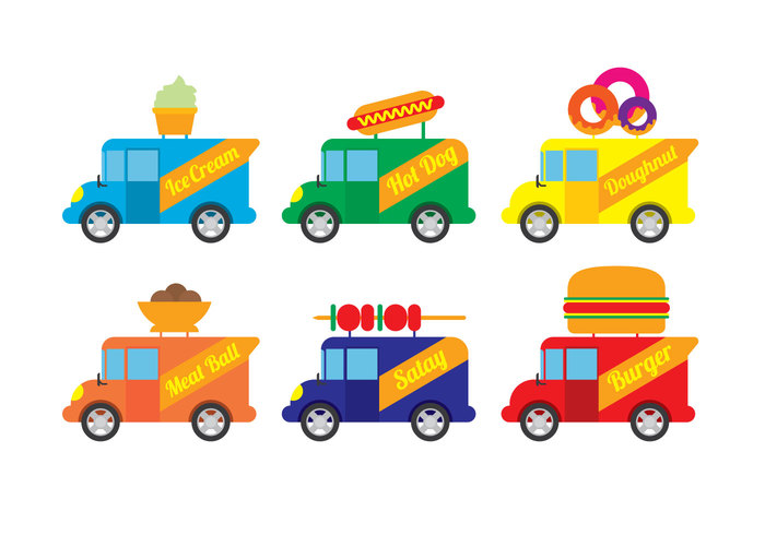 vechicle truck simple shop meal lunch kitchen icecream hordog foodtrucks foodtruck food truck food flat fast food fast elemetn dougnut dinner design Cuisine clipast chef cheap car business burger breakfast barbeque