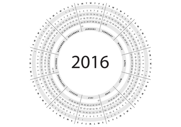 yearly year weekly week time template scheduler schedule planner organizer new year monthly month modern layout day date daily circle calendar calender calendars calendario 2016 calendar 2016 calendar Annual almanac agenda 2016 calendar 2016
