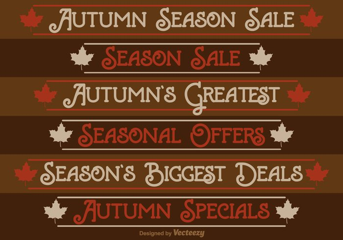 vector thanksgiving border tag store special shop September seasonal season sale retail Reduction red promotion price orange offer nature marketing market maple leaf label Fall discount coupon Consumer commerce business brown banner background autumn advertising