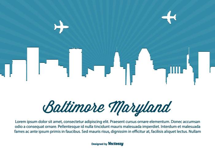 white vector USA United travel tall sunset states square skyscraper skyline sky silhouette scraper poster postcard monument modern maryland skyline maryland landmark illustration high front downtown day coast cityscape city skyline city building beautiful baltimore skyline baltimore maryland baltimore background architecture america