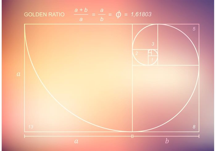 white wave vinci vector texture symbol swirl square spiral section science ratio proportion Perfection number Mathematics math line illustration Ideal Harmony grunge graphic golden ratio golden Geometry geometric fractal Formula Fibonacci eternity education drawing draft Divine design Composition blurred blur black beauty Balance background art ancient abstract