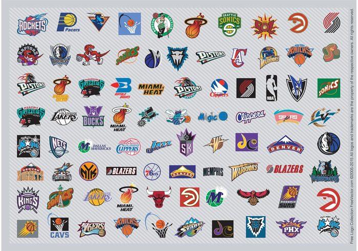 vector art USA sports play new york National basketball association Los Angeles graphics game Free images competition clipart basketball basket