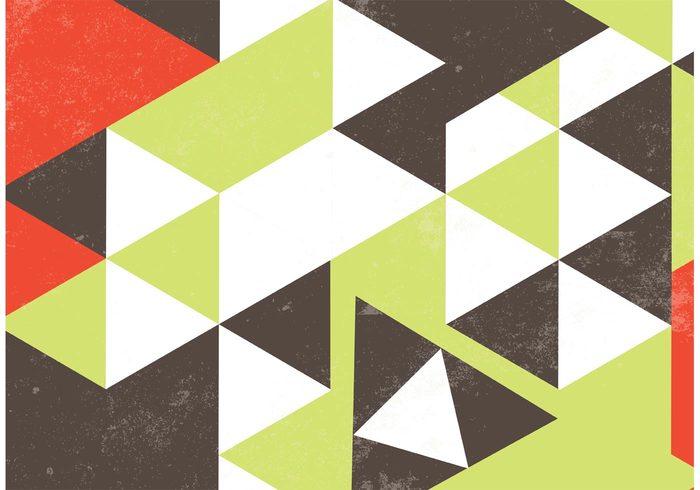 wallpaper triangle texture shapes retro colors retro pattern grunge texture graphic geometric background geometric design Composition color background