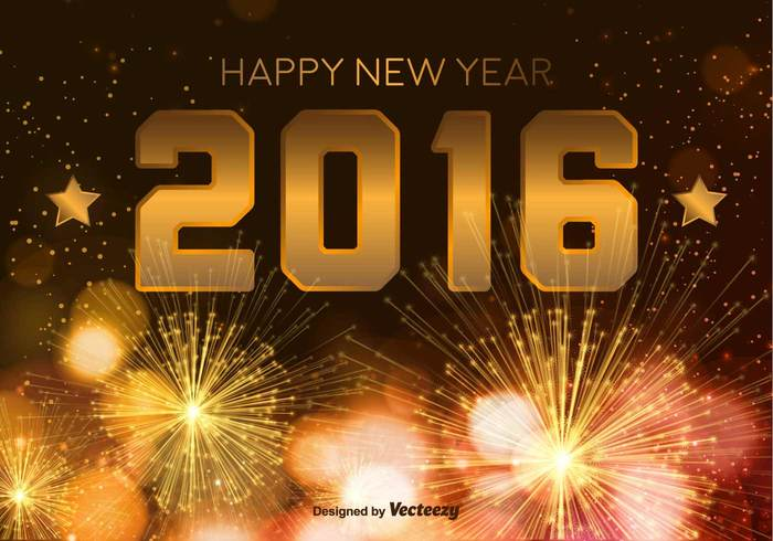 year xmas wallpaper season poster party number night new year new message holiday happy new year happy greeting gold Fireworks event decorative decoration christmas celebration celebrate card brochure banner background abstract 2016 year 2016