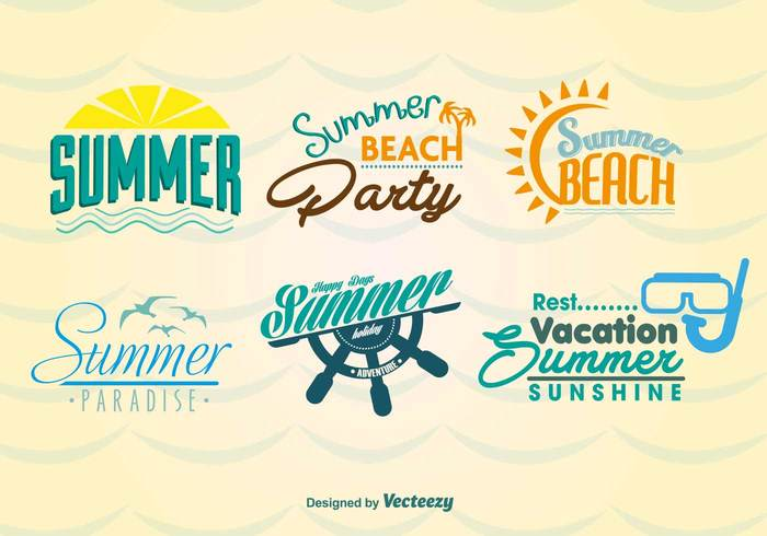 51evx5b4weuc209 Summer Beach Labels