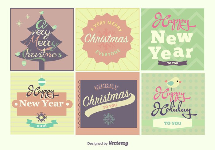 year xmas winter vintage typography typographic text style snowflake sign santa ribbon retro postcard paper ornament merry Lettering label invitation holiday happy greeting graphic gift frame congratulation classic christmas card calligraphy calligraphic background art
