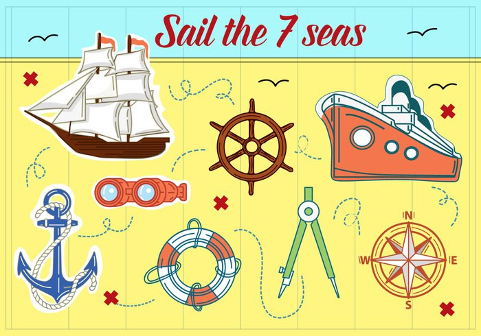 wheel whale web vintage texture tag symbol sticker Steering stamp sign ship set seal seahorse sea scallop sailing rope retro quality product premium pirate ornament old ocean nostalgia nautical nautica lighthouse label insignia illustration icon gull grunge emblem design decoration cruise liner compass collection classic business border boat blue banner badge antique anchor