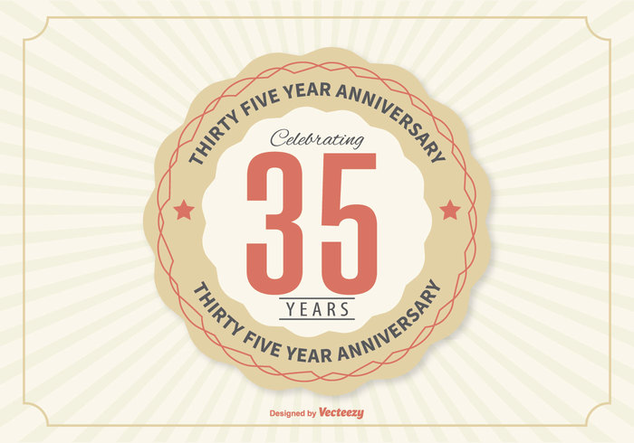 Years year wedding trust thirty template tag symbol Successful success sticker stamp sign seal ribbon retro poster party partnership number marriage label jubilee incorporation icon happy graphic graduation Fifth emblem design decoration corporate company certificate ceremony celebration card business brand birthday banner badge background anniversary 35th 35