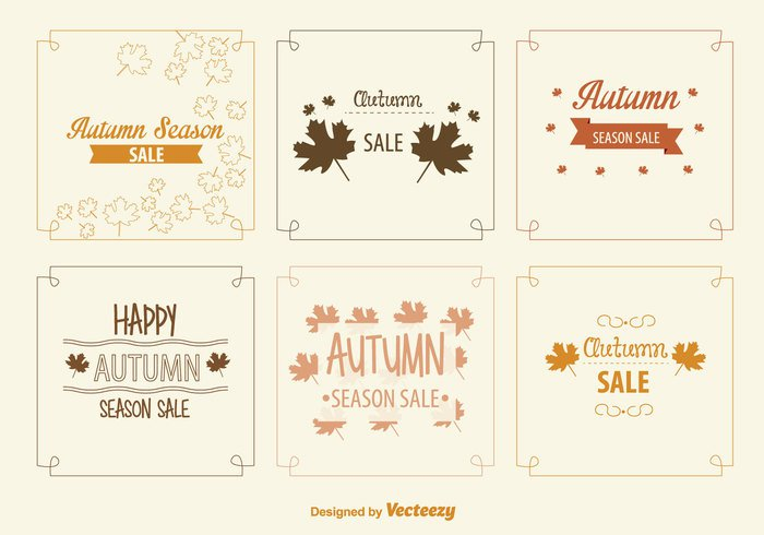 yellow vintage typography thanksgiving border sign shopping seasonal season sale retro retail promotion price poster orange old offer nature marketing maple leaf label foliage Fall discount card calligraphy business brown banner background backdrop autumn