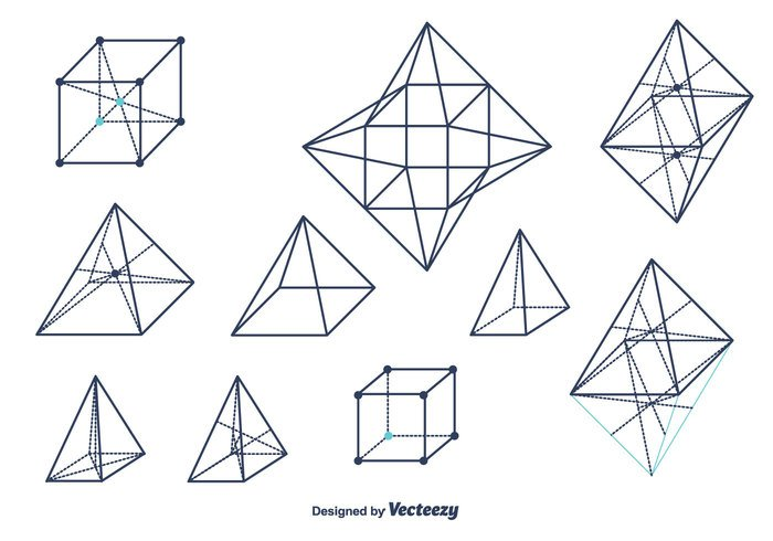 wireframe wire white vector triangular tetrahedron technical symbol style structure solid shapes shape set polygonal platonic perspective outline octahedron object Modeling line lattice grid Geometry geometrical shapes Geometrical free element dot cube construction connect background abstract 3d