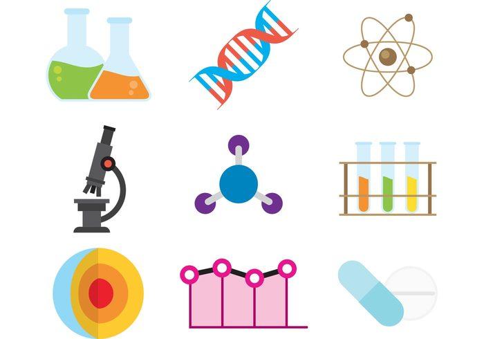 Scientific Vector Icons