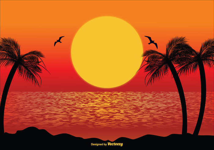 wallpaper view vacation tropical tree travel tourism sunset scene sunset sunrise scene sunlight sun summer sky silhouette shore season seascape sea scene sand resort relax poster party paradise palm ocean night nature leaf landscape lagoon holidays holiday happy exotic evening Coastline coast card beach background artwork abstract