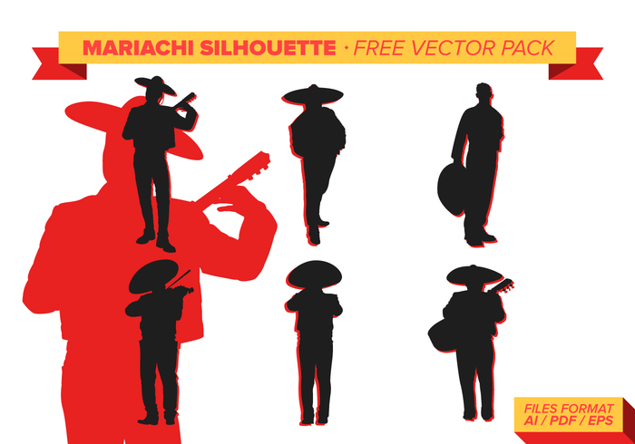 silhouettes silhouette party music instrument music mexico mexican men mariachi man instruments Fiesta band