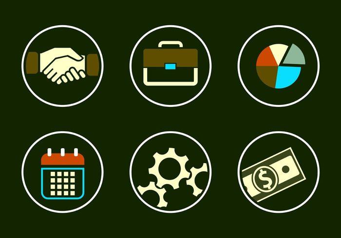 web teamwork sign research presentation pictogram office money marketing management icons handshake icon handshake graphic graph gear finance equipment diagram color chart calendar business briefcase