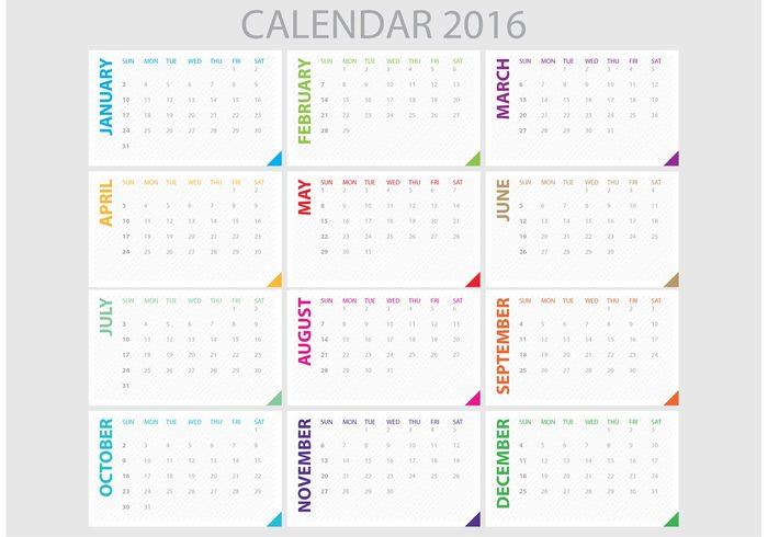 Daily business planner 2016 calendar