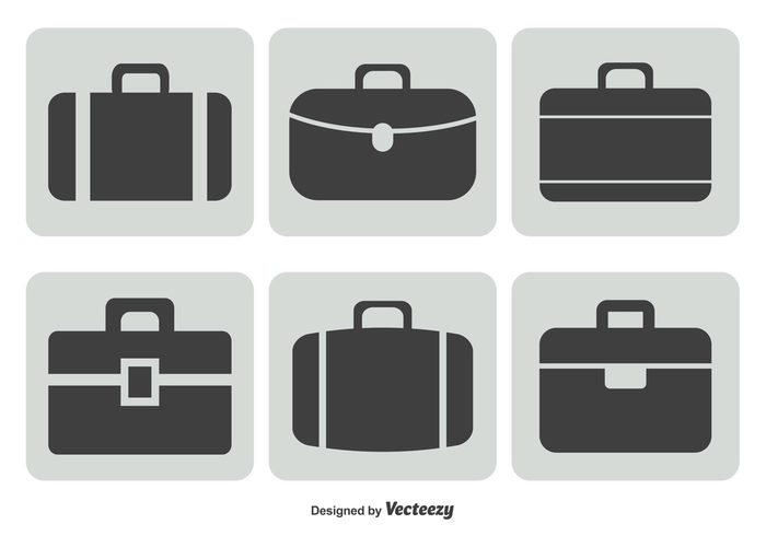 work white symbol suitcase icon set suitcase suit style sign portfolio office object modern luggage label isolated illustration icon handle design case button business briefcase icon set briefcase icon briefcase brief black baggage bag background accessory
