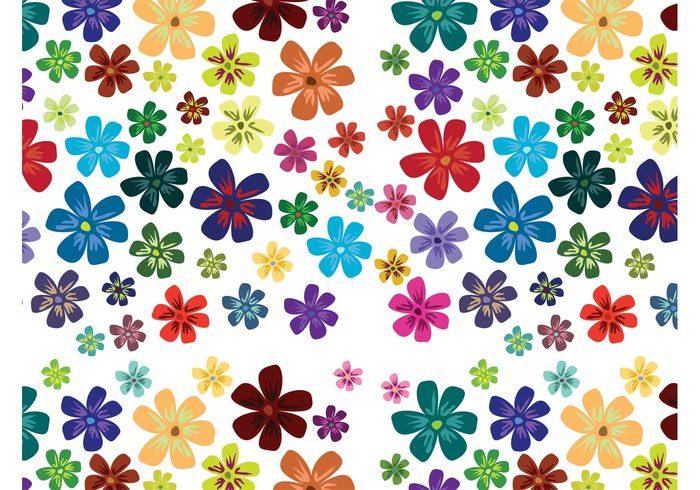 wallpaper spring seamless pattern petals pattern nature flowers floral flora background backdrop