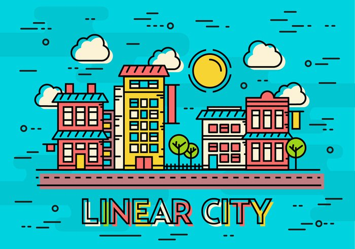 vector urban tree transport town template symbol skyscraper simple silhouette sign shop set scheme road plan park outline office object minimalistic market logotype logo linear line landscape isolated illustration icon house home graphic flat estate emblem element design Crossroad contour concept city car building bike bicycle background architecture apartment abstract