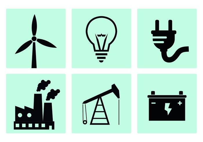 windmill wind Turbine symbol smoke smog silhouette Rig Power plant power pollution Plug outlet oil rig oil nuclear power plant light lamp industry fuel factory icon factory energy electricity electrical ecology connect cable bulb battery background