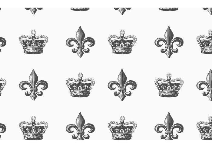 Free Heraldic Vector Seamless Pattern 139302 - WeLoveSoLo