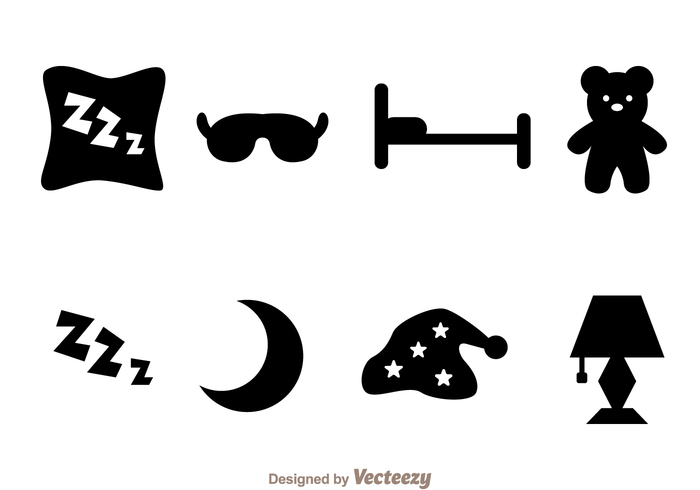 zzz teddy sleep masks sleep mask Sleep silhouette rest pillow night time night moon midnight lamp hat dream black bed bear