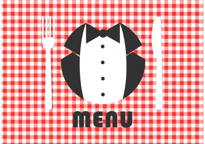 worker work waiter uniform tie text tablecloth table cloth suit staff space shirt service Servant restaurant red gingham red plaid menu man male maitre knife Job jacket isolated gingham tablecloth gingham pattern gingham background gingham formal fork dinner dining concept Catering card butler service butler bow blank black