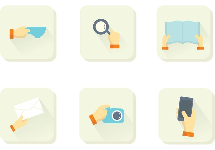 vector Social Media Icon search icon search reading icon photo icon phone letter icons set icons email icon email drink cup camera book