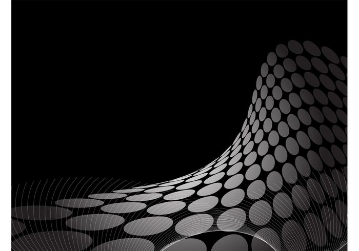 wave swoosh lines halftone Free Background ellipse dots circle background image abstract