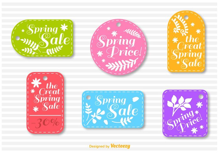 web typography text tag stitched sticker stamp spring sale spring label spring banner spring special sign shopping shop sell seasonal season sale retail promotion price offer market label economy discount deal commerce campaign buy business banner badge background advertising
