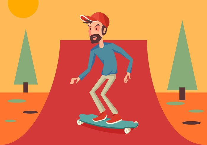 youth young white wheel vintage vector urban truck trendy symbol sun summer sport speed skater skateboarding skateboarder skateboard skate sign set road retro Recreation portrait person park Outdoor object modern model man male longboarding longboarder longboard long-boarding long-board long lifestyle leisure isolated image illustration hipster hill health handsome guy graphic flat fashion extreme element drawing doodle design deck cover cool comics colorful color collection character casual cartoon boy board beige Bearded background attractive art active