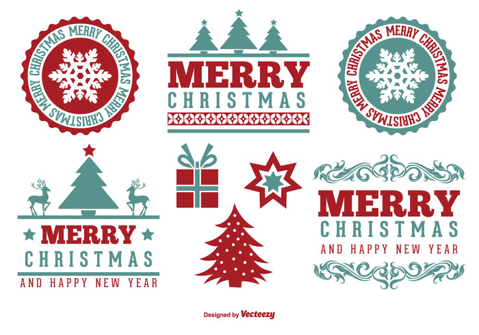 xmas wish winter typography tree text snowflake set season retro red present postcard merry christmas merry Lettering label invitation holiday happy new year happy greeting gift frame Design Elements deer decoration December cute congratulation christmas tree christmas labels christmas celebration card border 2105