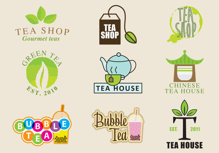 vector typography teapot tea symbol style stamp sketch simple silhouette sign shop shape set restaurant plant nature natural mug logo leaf label kettle illustration icon green graphic food element elegance drink drawn drawing design decorative cup cafe bubble tea badge art