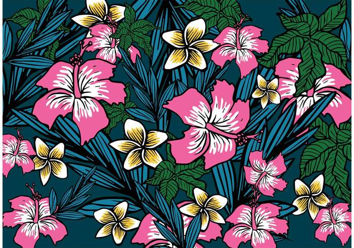 wallpaper vacation tropical summer spring polynesian flower Polynesian Polynesia plant luau leaves island Hula hibiscus Hawaiian hawaii flower wallpaper flower background flower floral wallpaper floral background floral fabric botanical blue blossom background aloha