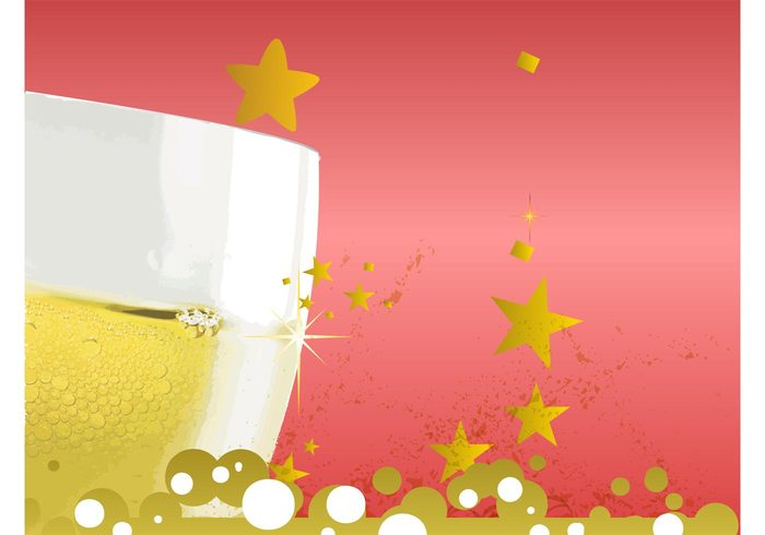wedding toast stars shiny shine new year liquid festive drink celebration celebrate bubbles beverage alcoholic alcohol
