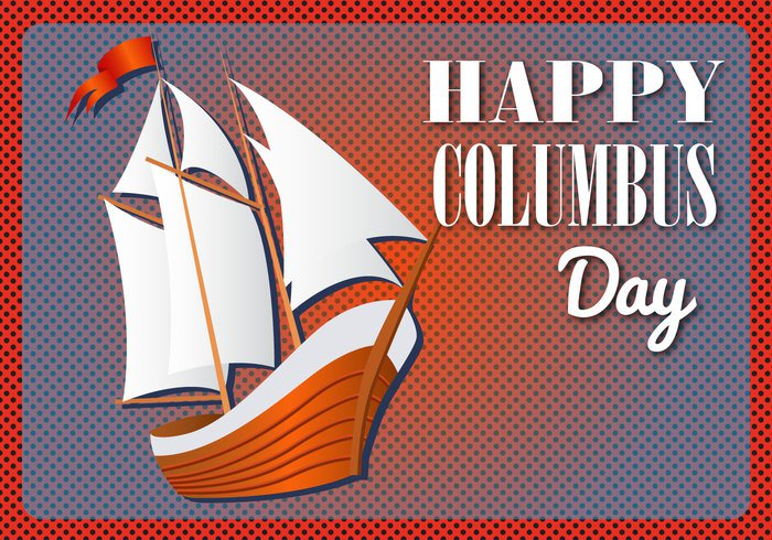 wind wave vector travel ship sailor mast illustration holiday history graphic flag drawing Discovery decorative decoration creative concept columbus day clothing christopher celebrate caravel canvas calendar background anchor america