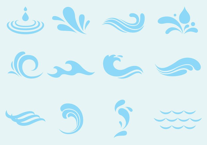 white wavy wave water vector vacation symbol swirly swirl surf summer stylized storm splash simple shape set sea scrolls river ocean nautical nature marine line isolated illustration icon graphic gale fresh flow flourish floral emblem element elegant dynamic design decorative decoration curve curly curl clear cartoon blue background art agua abstract