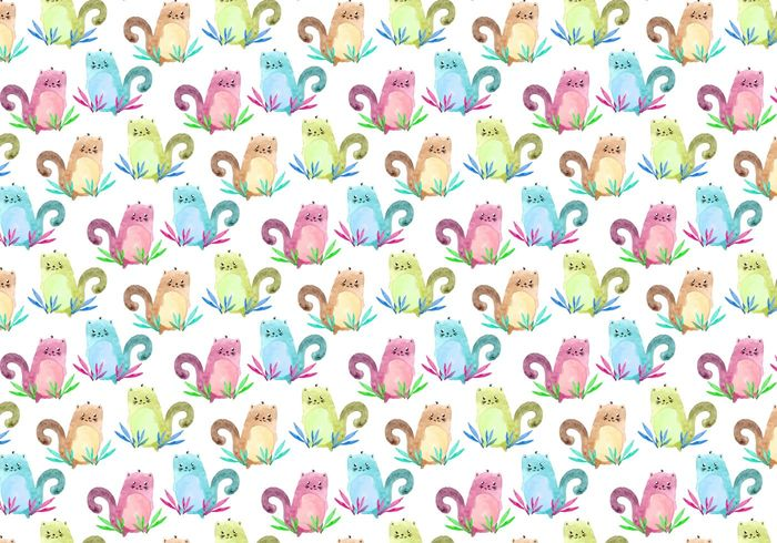 wrapping watercolor wallpaper vintage trendy texture Textile summer stylish Stain sketch shape seamless retro print pattern paper paint ornament nature modern light kitten ink graphic fabric element elegant drawing draw design decor cute creative cover cat brush black background backdrop art animal abstract