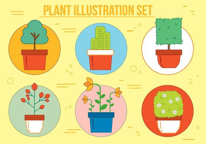 55sbynflvr2n530 Free Plant Vector Illustration