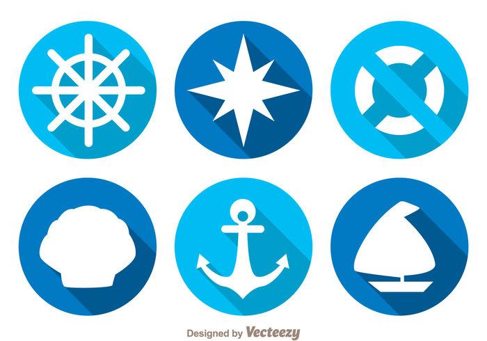 wheel water shadow sea sailor sail pearl ocean nautical nautica marine long float compass circle boat blue anchor
