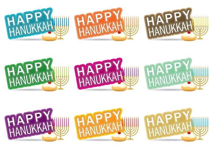 yarmulke white typography type text symbol star script sayings Sacred religious religion poster Menorah marketing lifestyle Lettering judaism jewish jelly isolated image illustration icon holy holiday happy Hanukkah greeting fashion element elegance dreidel doughnut donut design decoration David dark crown color chanukah card candle blue background