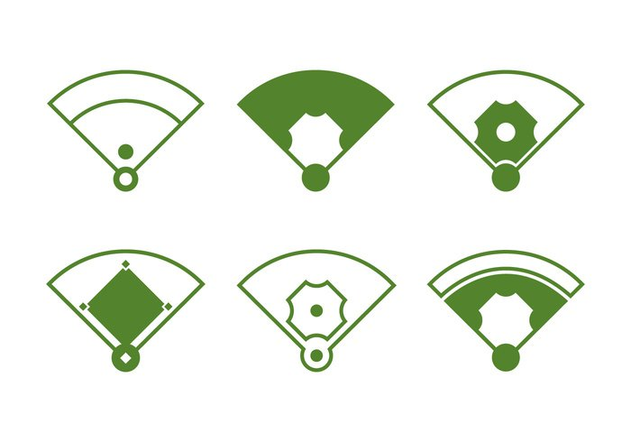 team symbol stadium sport run play pitcher outfield mound line league infield illustration home green grass game field diamond baseball diamond baseball Base background american